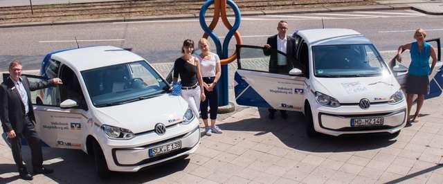 Volksbank: Autos für soziales Engagement