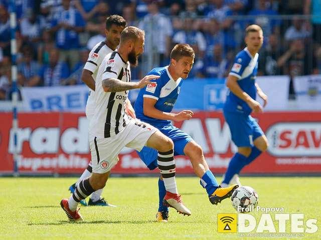 05.08.2018 2.Bundesliga Fussball MDCC Arena 1.FC Magdeburg - FC