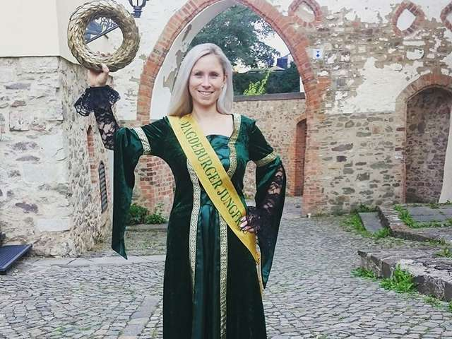 Die Magdeburger Jungfrau - Christina Nalesny