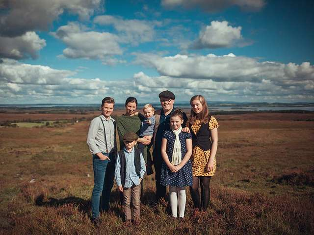 Angelo Kelly und Familie