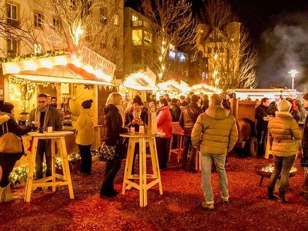 Weihnachtsmarkt Grüne Zitadelle