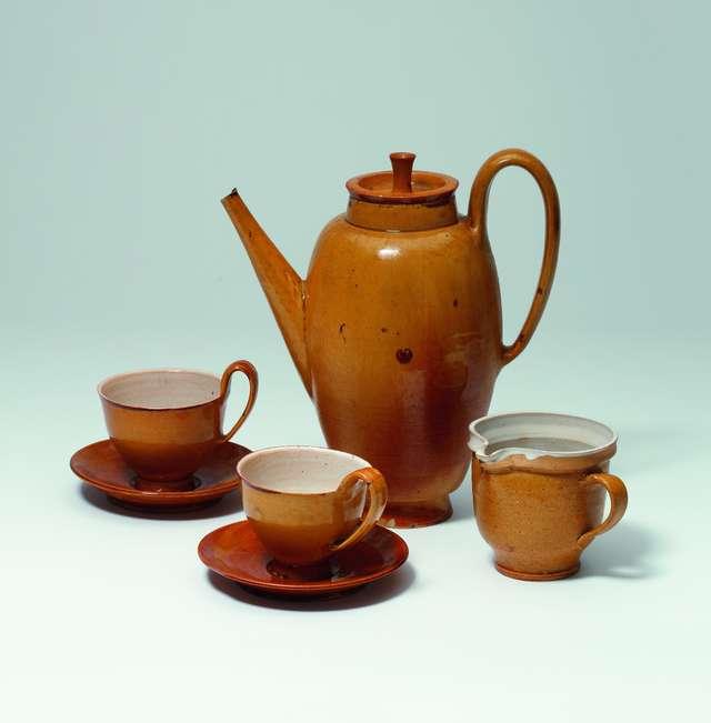 uerite Friedlaender, Kaffeeserviceteile