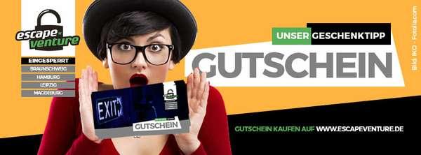 Escapeventure-Gutschein