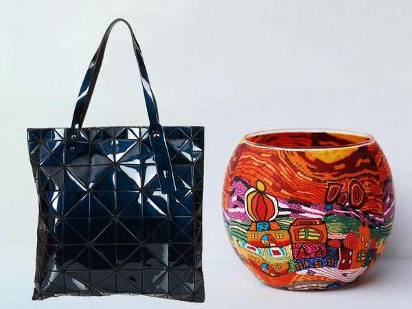 Tasche/Leuchtglas von Kunstreich