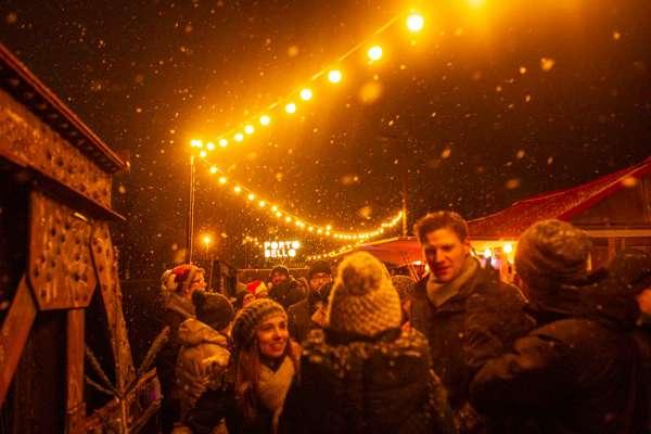 Weihnachtsmarkt Hubbrücke