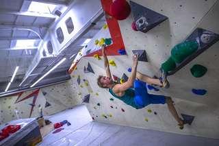 "Bouldercup in der Magdeburger Boulderhalle ""BlocSchmiede"""