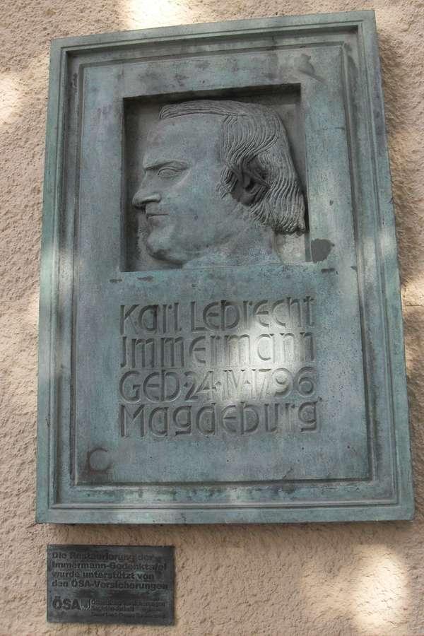 Carl Leberecht Immermann-Tafel