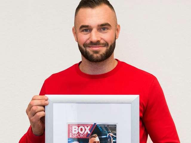 Dominic Bösel ist Boxer des Jahres