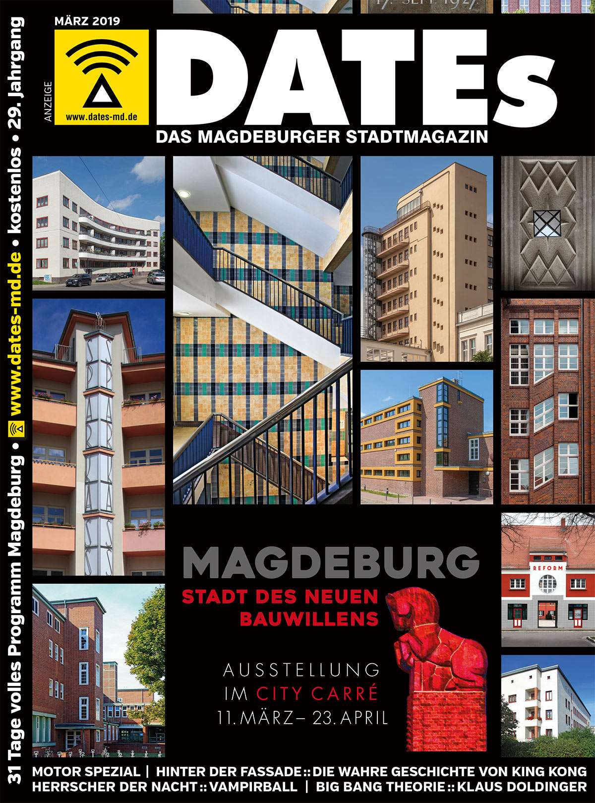32f7044ac6df28 DATEs März 2019 - Magdeburger Moderne - Stadtmagazin DATEs