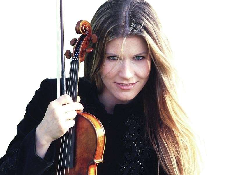 Violonistin Sabrina Vivian Höpcker