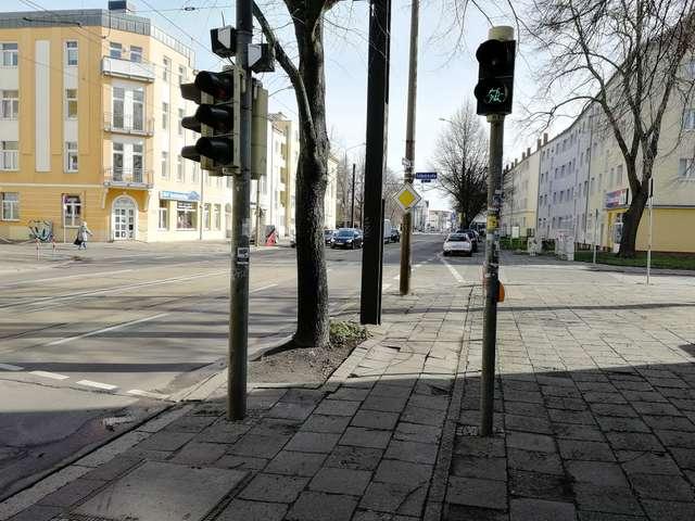 Problemampel in Stadtfeld Ost