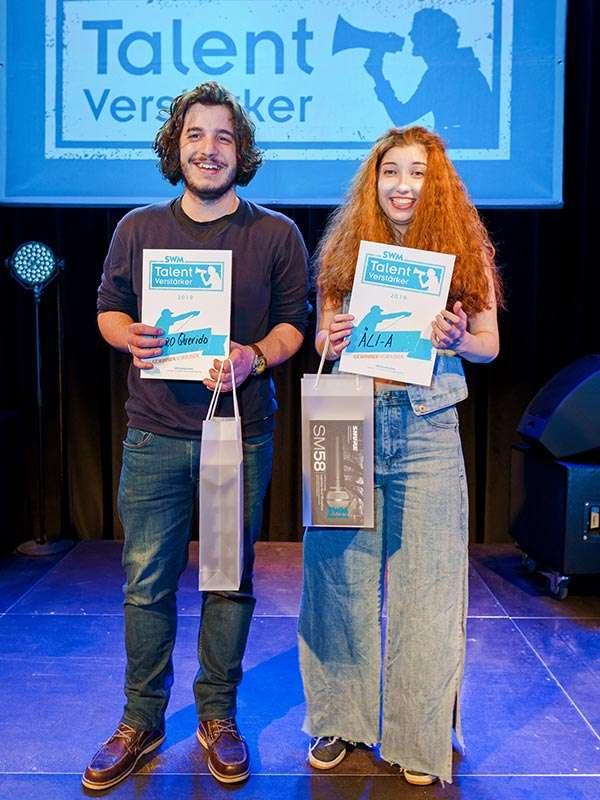 SWM TalentVerstärker-Finalisten Pedro Querido/Äli-A