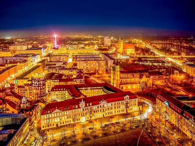 Magdeburg im Lichterglanz