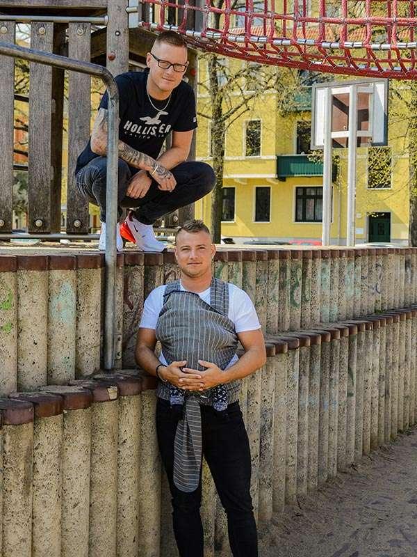 Steven und Robert Wenztlau