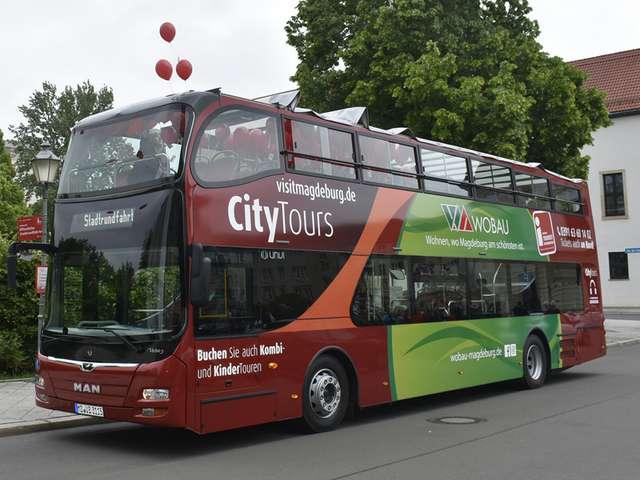 Neuer Doppeldecker für Stadtrundfahrten
