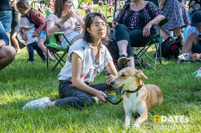 Wohnzimmerkonzerte feiern Open Air Party im Glacispark