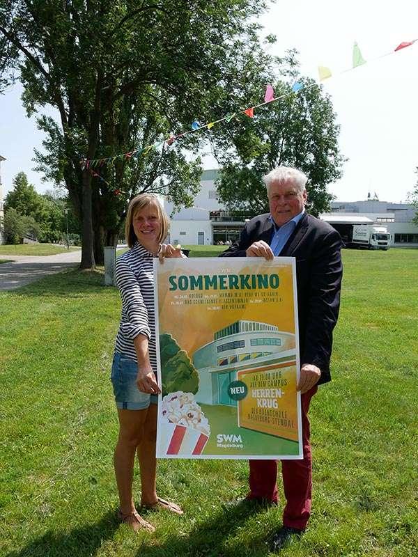 SWM Sommerkino - Pressekonferenz