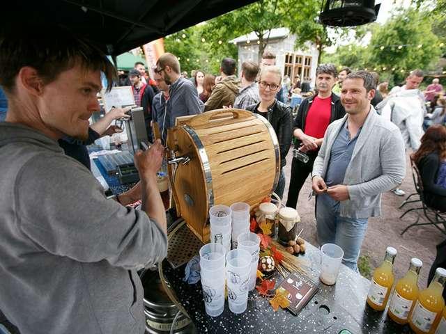 Craft Beer Festival an der Milchkuranstalt