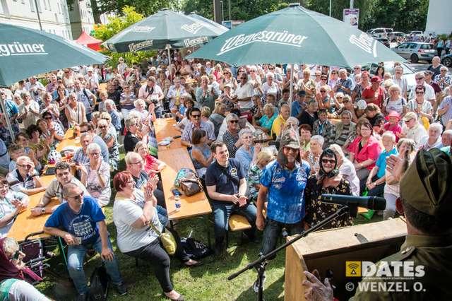 MWG-Mieterfest vor DDR-Museumswohnung
