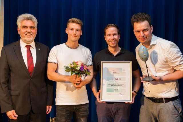 Die Preisträger bei der Verleihung