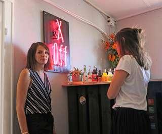 Die Gründerinnen der Galerie XOFF