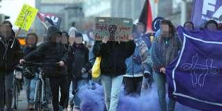 Frauentagsdemo des Feministischen Kollektivs Magdeburg 2019