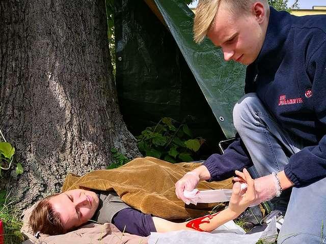 Outdoor Kurs der Johanniter-Unfall-Hilfe e.V.
