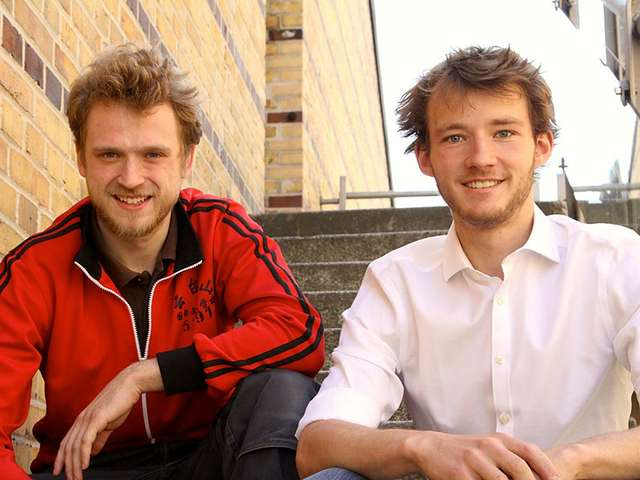 Trenux-Gründer Markus Rothkötter und Finn Süberkrüb