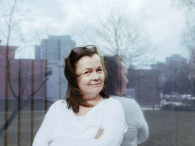 Die Berlinerin Katja Oskamp