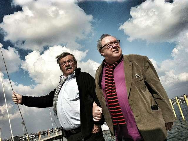 Die Schauspieler Jaecki Schwarz & Wolfgang Winkler