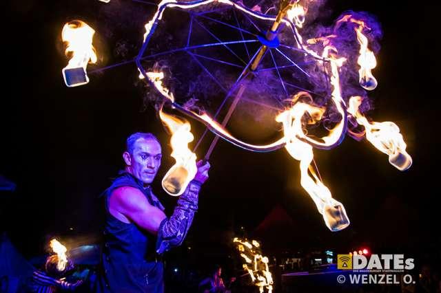 Die Flugträumer - Feuershow