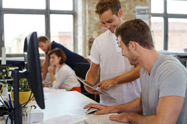 Entwickler und Grafiker