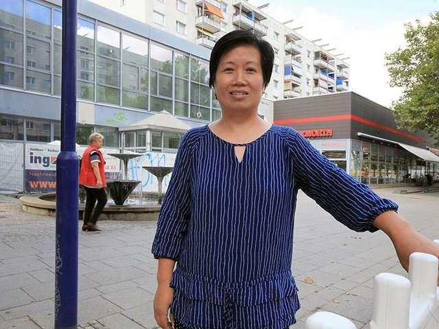 Xiaomei Cai - Inhaberin der Kimbo Burg