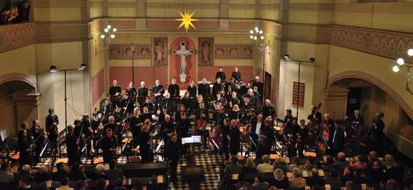 Sinfonieorchester Magdeburger Musikfreunde in der Pauluskirche.
