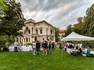 Villa Bennewitz wurde mit rauschendem Fest eingeweihnt