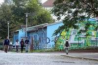 Baracke Magdeburg - Außenansicht