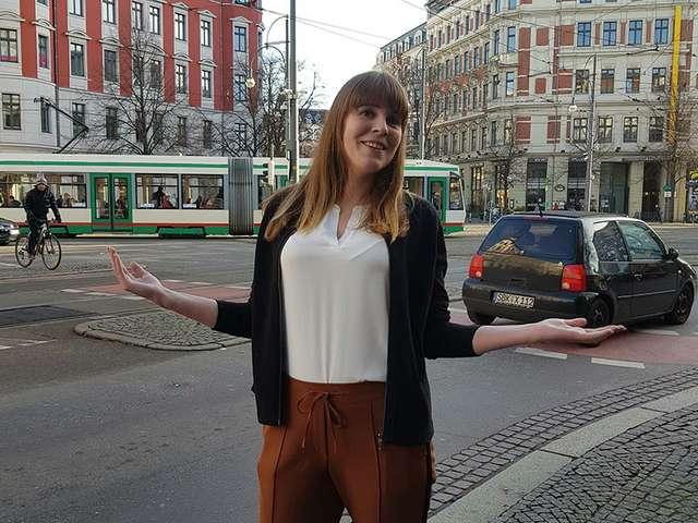 Hasselmanagerin Alena Hertrich