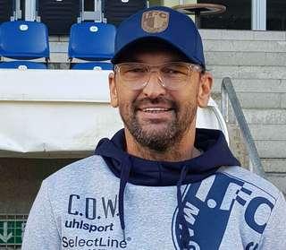 Cheftrainer Claus-Dieter Wollitz