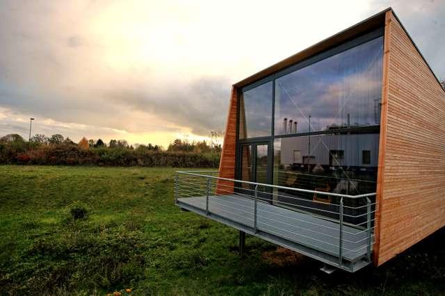Besucherzentrum des Biomasseheizkraftwerk