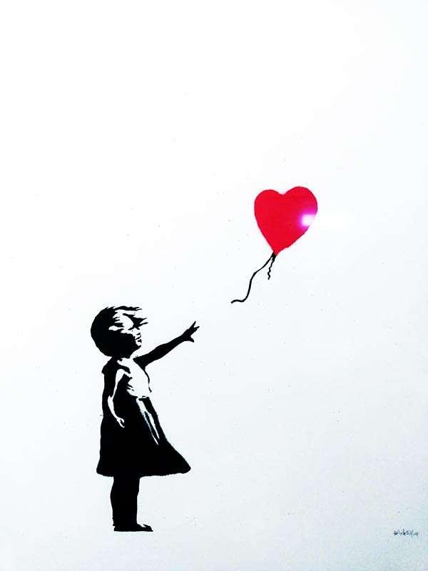 Mädchen mit Herz