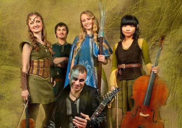 """Musiker der Band """"Fairytale"""""""