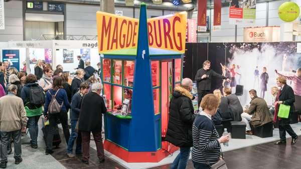 Magdeburg auf der Leipziger Buchmesse 2018