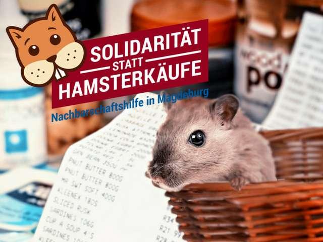 Solidarität statt Hamsterkäufe