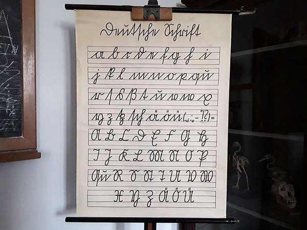 Sütterlin-Schreibschrift