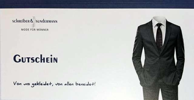 Gutschein Schreiber & Sundermann