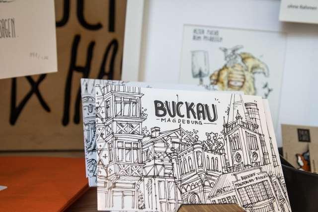 Eröffnung Buckau-Shop