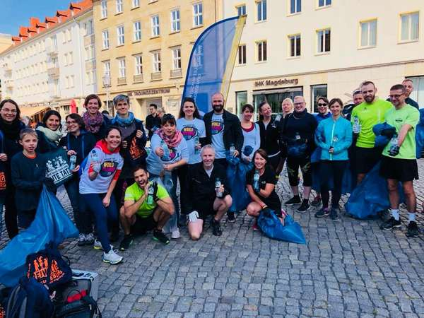 World Cleanup Day in Magdeburg