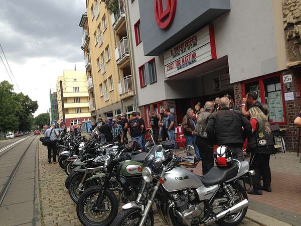 Biker-Treffen im OLi-Kino