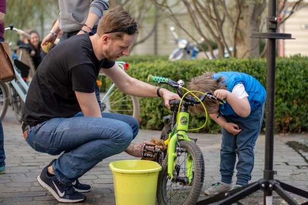 Fahrradfrühjahrsputz