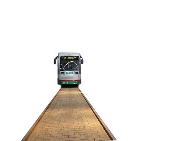Straßenbahn der MVB